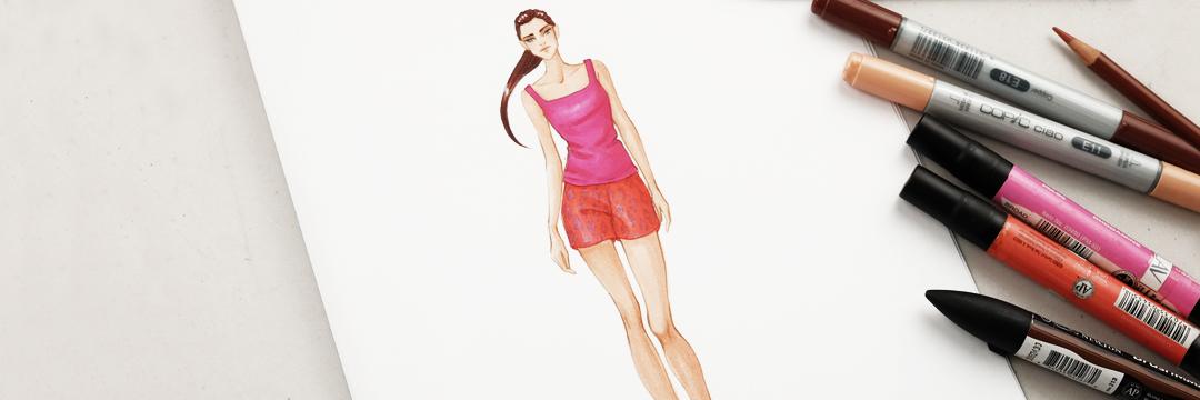 MKLAV-Fashion Illustration